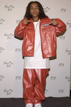 Shiny Leather Sweatsuits | 15 Important '90s Hip-Hop Fashion Trends You Might Have Forgotten