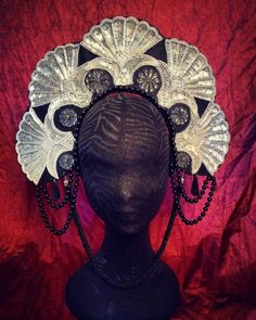 Crowns, Headpiece, Wreaths, Halloween, Etsy, Beautiful, Home Decor, Headdress, Decoration Home