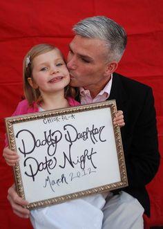 sweetfunkyvintage: Daddy Daughter Date Night