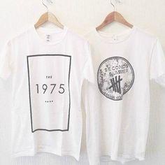 shirt t-shirt tumblr the 1975 music festival band t-shirt event