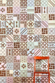 Graphical Wood Tiles inspired by Brazilian History – Fubiz Media