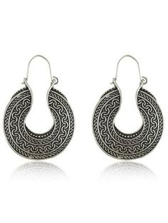 Cheap earrings for, Buy Quality dropping earrings for women directly from China drop earrings Suppliers: New Arrival Bohemia Style Tibetan Silver Vintage Round Retro Drop Earring For Women Wholesale Simple Jewelry, Cute Jewelry, Modern Jewelry, Boho Jewelry, Silver Jewelry, Vintage Jewelry, Fashion Jewelry, Jewellery, Jewelry Box