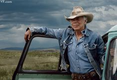 Fashion designer Ralph Lauren, photographed at the Double RL Ranch, in Ridgway, Colorado, by Annie Leibovitz for Vanity Fair August 2012.