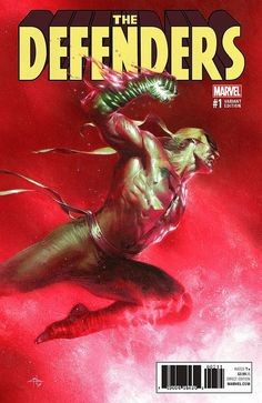 The Defenders #1 (2017) 7Ate9Comics Exclusive Variant Cover by Gabriele Dell'Otto