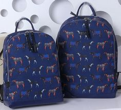 63b45c171aa Gucci Horse Print Backpack 353476 Blue. Cheap Gucci BagsHorse PrintBag SaleLovely  ...