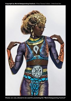 24 Beautiful Body Painting Pictures from World Body Painting Festival