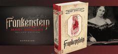 Frankenstein, publicado em 1818 pela autora Mary Shelley, ganhará uma edição de luxo pela DarkSide Books no segundo semestre de 2016.