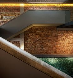 House N° 21- contemporary stairs fill the space