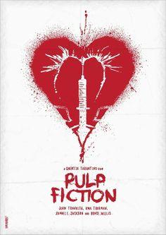 Pulp Fiction poster by Daniel Norris