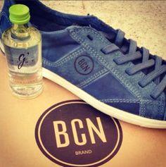 BCN Brand sneaker and GVine gintonic. Tandem sponsoring