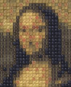 Work by Knight - WBK Mona Lisa