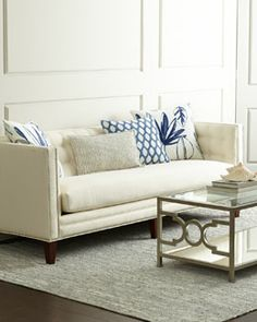 Massoud - H76KA - Harbor Sofa $3600 Horchow