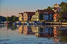 Sandefjord, Norway Just stunning. Ida elizabeth lives with her mom and aunt in Sandefjord after Solvi's birth. p22