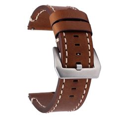 Mens 38 mm Italian Calf Suede Walnut 40 Torino Leather Co