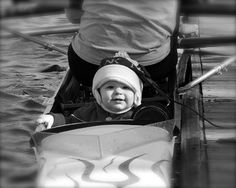 You're never too young to learn how to be a coxswain, right?