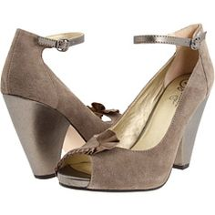 So I think these shoes are GORGEOUS...but it turns out that 4 inch heels are just NOT something I can do.  Bummer.