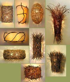 KUFER: Lampy z gałęzi - INSPIRACJE