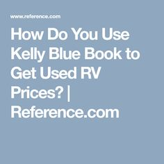 Kelley Blue Book For Rvs >> 20 Best Used Rv For Sale Images Used Rv For Sale Used Rv