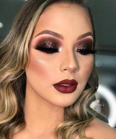 Eye Makeup Tips – How To Apply Eyeliner – Makeup Design Ideas Glam Makeup Look, Blush Makeup, Gorgeous Makeup, Smokey Eye Makeup, Eyeshadow Makeup, Lip Makeup, Makeup Brushes, Smoky Eyeshadow, Teen Makeup