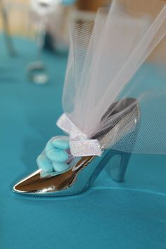 Favors at a Cinderella Party #cinderella #partyfavors