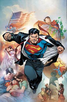 Superman: Action Comics Vol. The New World (Rebirth) Artwork Superman, Wallpaper Do Superman, Arte Do Superman, Batman Et Superman, Superman Action Comics, Superman Lois, Superman Family, Superman Man Of Steel, Superman Stuff