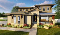 Architectural Designs 4 Bed House Plan 62635DJ. 4 beds and over 3,100 square feet of living. Ready when you are. Where do YOU want to build?