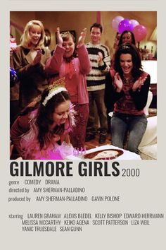 Iconic Movie Posters, Iconic Movies, Film Posters, Rory Gilmore, Film Polaroid, Gilmore Girls Poster, Gilmore Gilrs, Lauren Graham, Good Movies To Watch