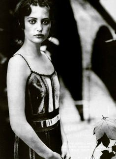Noot Seear by Paolo Roversi for Alberta Ferreti Fall 1999