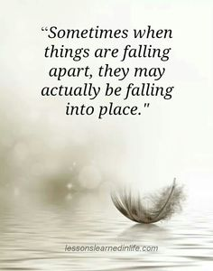 Trust in things that fall apart