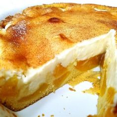 """Award Winning Peaches and Cream Pie """"Absolutely great dessert. I have made this four times and am ALWAYS asked for the recipe. Great Desserts, No Bake Desserts, Delicious Desserts, Dessert Recipes, Yummy Food, Dessert Food, Food Cakes, Cupcake Cakes, Cupcakes"""