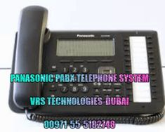 VRS Technologies Covers A Broad Variety Of Panasonic Pabx Telephone Systems  In Dubai , We Give