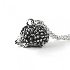 Handmade Gifts | Independent Design | Vintage Goods Teeny Tiny Hedgehog Necklace - Best Sellers