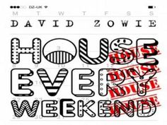 [ DOWNLOAD MP3 ] David Zowie - House Every Weekend (Original Mix)