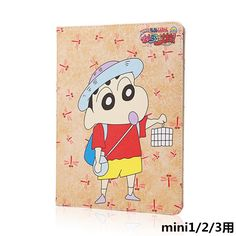 IPad cover with cartoon Tballer and Dueplay heroes for
