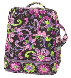 Vera Bradley Large Backpack in Purple Punch: Amazon.com: Clothing