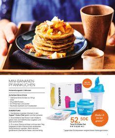 Tupperware Katalog 2017 Page 7 Tupperware Katalog, Shaker Tupperware, Pancakes, Beignets, Twists, Brunch, Breakfast, Foodies, Waffles