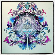 271 Best Enchanted Forest Johanna Basford Images On Pinterest