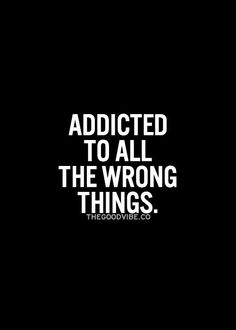 ...but they all feel so damn good...