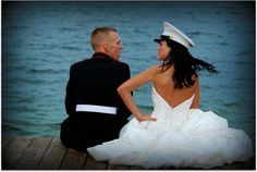 love this picture. I want one like this when I marry my soldier <3 - Click image to find more Weddings Pinterest pins