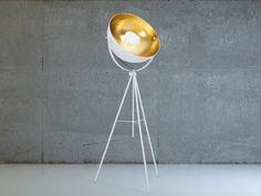 Staande lamp wit - Stalamp - Leeslamp - Verlichting - THAMES