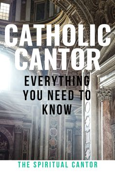 A cantor in the Catholic Church is a specifically trained person to lead the congregation in singing hymns, reciting the Psalm with call and response, and. Call And Response, No Response, Parts Of The Mass, Primary Songs, Music Ministry, Spiritual Formation, Church Music, Music Sing, The Rite