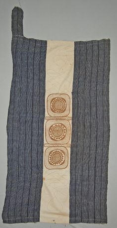 Hausa. From Sokoto, Nigeria. Woman's wrapper. British Museum