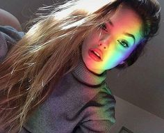 Hi im Iris goddess percyjackson iris rainbow rainbowgod new beauty longhair Rainbow Photography, Girl Photography, Rainbow Light, Rainbow Hair, Rainbow Aesthetic, Aesthetic Girl, Girl Photo Poses, Girl Photos, Foto Casual
