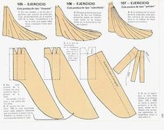моделирование шлейфа платья