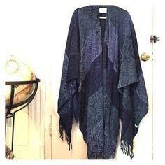 Authentic Irish/Celtic Ruana/shawl