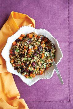 Carrot Cranberry Spelt Berry Salad, alive.com