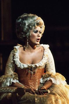 Kiri Te Kanawa in the role that brought her fame, the Countess Almaviva in Mozart's Marriage of Figaro.