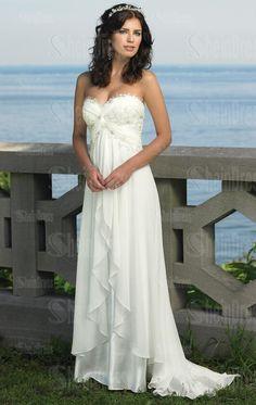 beach wedding dresses - 0