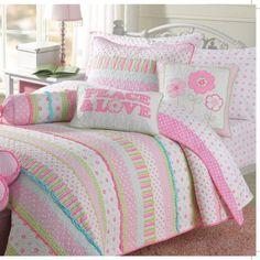 Cozy Line Home Fashion Greta Pastel Quilt Set - Walmart.com
