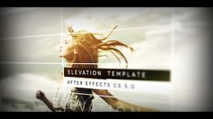 Elevation is an elegant after effects opener. Very stylish and classy slideshow with dynamic and smooth moves using great depth of field blur and lens flares. Some typography animations also. Great as introduction, movie intro opener, dynamic portoflio, photo or videos album / gallery…. No plugin required. Very easy customization.  http://s9motion.com/wp01/?p=1373